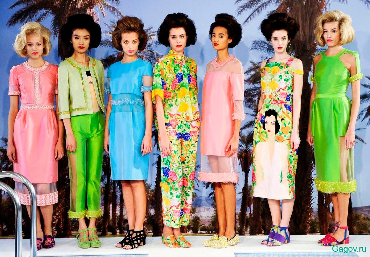 модные тенденции 1970-х годов